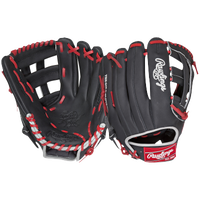 Rawlings Heart of the Hide Fielder's Glove - Black / Red