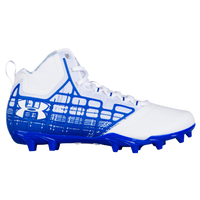Under Armour Banshee Mid MC - Men's - White / Blue