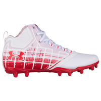 Under Armour Banshee Mid MC - Men's - White / Red