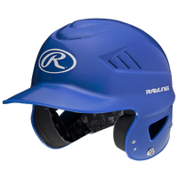 Rawlings Coolflo Batting Helmet - Youth - Blue / White