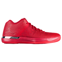 Jordan AJ XXXI Low - Men's - Red / Silver