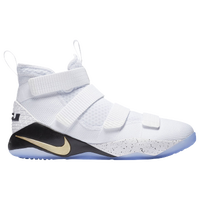 Nike LeBron Soldier 11 - Men's -  Lebron James - White / Gold