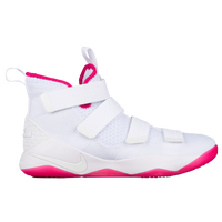 Nike LeBron Soldier 11 - Men's -  Lebron James - White / Pink