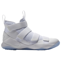 Nike LeBron Soldier 11 - Men's -  Lebron James - All White / White