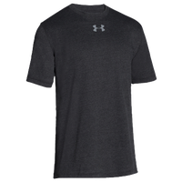 Under Armour Team Stadium S/S T-Shirt - Men's - All Black / Black