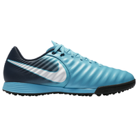 Nike TiempoX Ligera IV TF - Men's - Light Blue / White