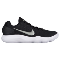 Nike React Hyperdunk 2017 Low - Men's - Black / Silver