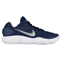 Nike React Hyperdunk 2017 Low - Men's - Navy / Silver