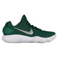 Nike React Hyperdunk 2017 Low - Women's - Dark Green / Silver