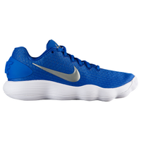 Nike React Hyperdunk 2017 Low - Women's - Blue / Silver