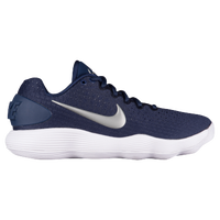 Nike React Hyperdunk 2017 Low - Women's - Navy / Silver