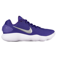 Nike React Hyperdunk 2017 Low - Women's - Purple / Silver