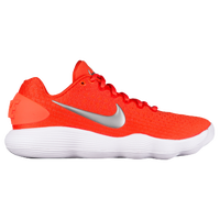 Nike React Hyperdunk 2017 Low - Women's - Orange / Silver