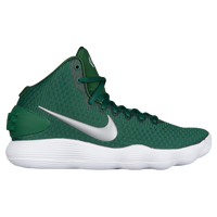 Nike React Hyperdunk 2017 Mid - Women's - Dark Green / Silver