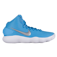 Nike React Hyperdunk 2017 Mid - Women's - Light Blue / Silver