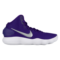Nike React Hyperdunk 2017 Mid - Women's - Purple / Silver