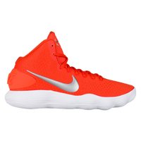 Nike React Hyperdunk 2017 Mid - Women's - Orange / Silver