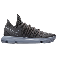 Nike KD X - Men's -  Kevin Durant - Grey / Silver