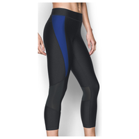 Under Armour Team Capri Tights - Women's - Black / Blue