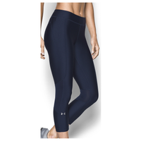 Under Armour Team Capri Tights - Women's - Navy / Navy