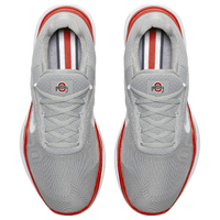 Nike Free Trainer V7 - Men's - Ohio State Buckeyes - Grey / White