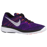 Nike Flyknit Lunar 3 - Men's - Black / Purple