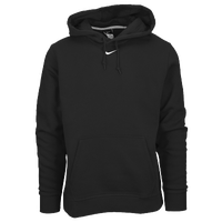 Nike Team Club Fleece Hoodie - Men's - Black / White