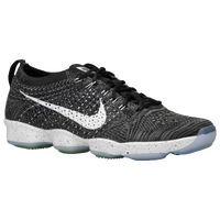 Nike Flyknit Zoom Agility - Women's - Black / Grey