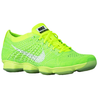 Nike Flyknit Zoom Agility - Women's - Light Green / Light Green