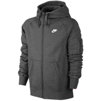 Nike AW77 Full Zip Hoodie - Men's - Grey / Grey