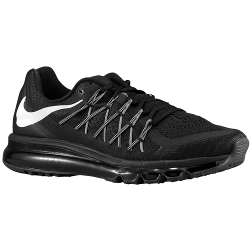 nike air max 2015 men 39 s running shoes black white. Black Bedroom Furniture Sets. Home Design Ideas