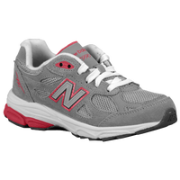 New Balance 990 - Girls' Preschool - Grey / Pink