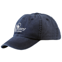 Kinney Shoes Strapback Cap - Men's - Navy / White