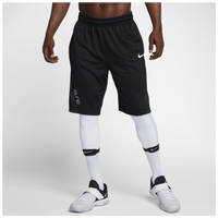 Nike Elite Posterize Shorts - Men's - Black / White