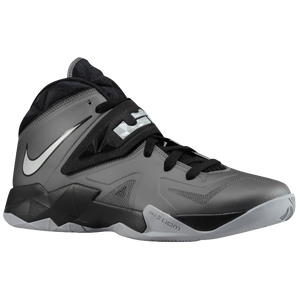 Nike Zoom Soldier VII - Men's - Dark Grey/Metallic Silver