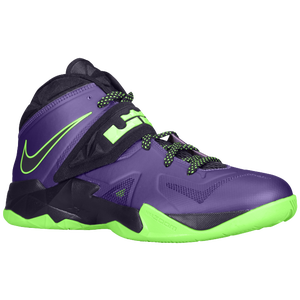 Nike Zoom Soldier VII - Men's - Court Purple/Flash Lime/Blueprint