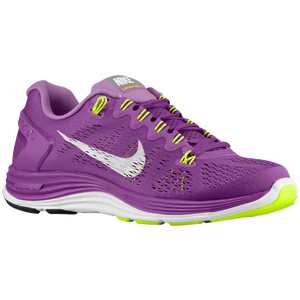 Nike LunarGlide+ 5 - Women's - Bright Grape/Violet Shade/Volt/White