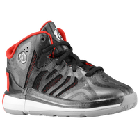 adidas Rose 4.5 - Boys' Toddler - Black / Grey