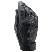 Under Armour Clean-up Batting Gloves - Youth - Black / Black