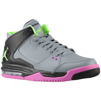 Jordan Flight Origin - Men's - Grey / Light Green