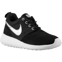 Nike Roshe Run - Boys' Grade School - Black / Silver