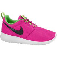 Nike Roshe Run - Girls' Grade School - Pink / Light Green