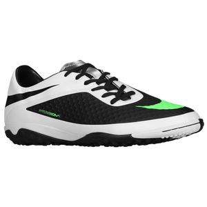 Nike Hypervenom Phelon TF - Men's - Black/White/Metallic Silver/Neo Lime