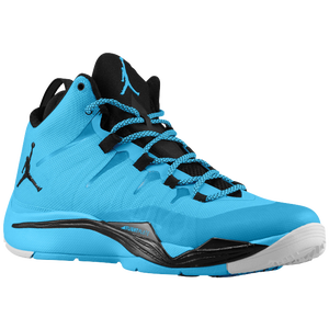 Jordan Super.Fly II - Men's - Dark Powder Blue/Black/White
