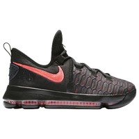 Nike KD 9 - Boys' Grade School -  Kevin Durant - Black / Orange
