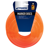 Champro 10 pack Marker Discs - Orange / Orange
