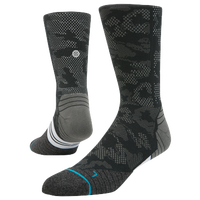 Stance Fusion Run Crew Socks - Men's - Black / Grey