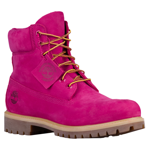 all red timberland boots mens