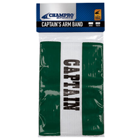 Champro Captain's Arm Bands - Dark Green / White