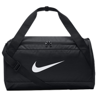 Nike Brasilia Small Duffel - Black / White